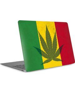 Marijuana Rasta Flag Apple MacBook Air Skin