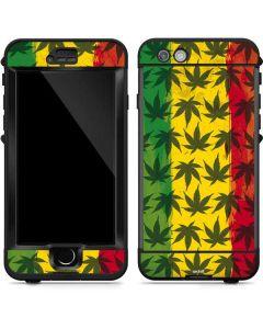 Marijuana Rasta Pattern LifeProof Nuud iPhone Skin