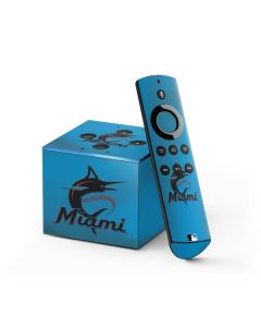 Marlins Embroidery Fire TV Cube Skin