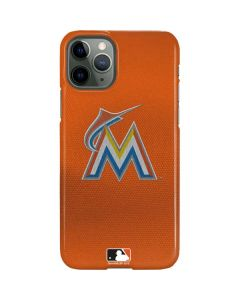 Marlins Embroidery iPhone 11 Pro Lite Case
