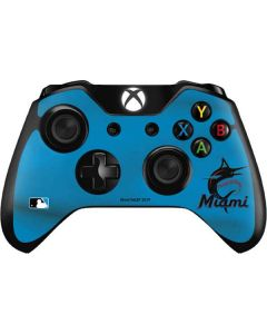 Marlins Embroidery Xbox One Controller Skin