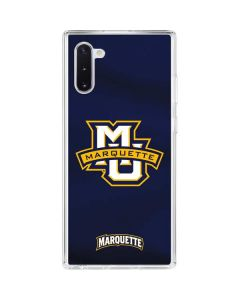 Marquette University Galaxy Note 10 Clear Case
