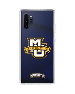 Marquette University Galaxy Note 10 Plus Clear Case