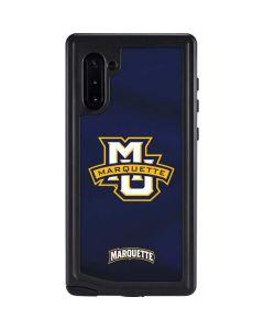 Marquette University Galaxy Note 10 Waterproof Case