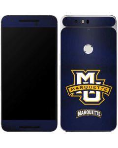 Marquette University Google Nexus 6P Skin
