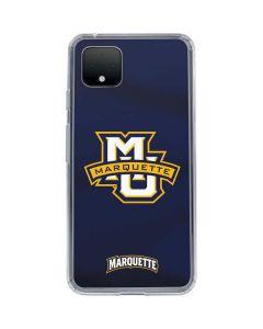 Marquette University Google Pixel 4 XL Clear Case