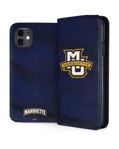 Marquette University iPhone 11 Folio Case