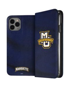 Marquette University iPhone 11 Pro Folio Case