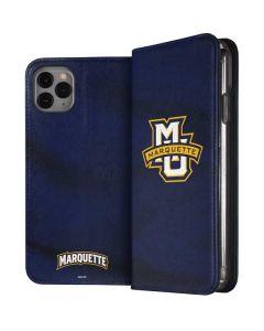 Marquette University iPhone 11 Pro Max Folio Case