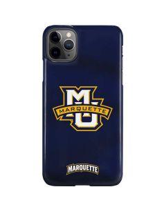 Marquette University iPhone 11 Pro Max Lite Case