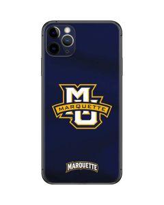 Marquette University iPhone 11 Pro Max Skin