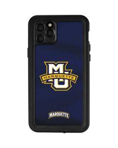 Marquette University iPhone 11 Pro Max Waterproof Case
