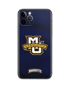 Marquette University iPhone 11 Pro Skin
