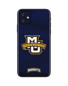 Marquette University iPhone 11 Skin