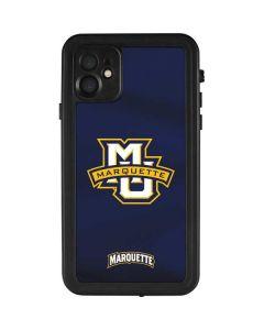 Marquette University iPhone 11 Waterproof Case