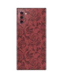 Marsala Rose Galaxy Note 10 Skin