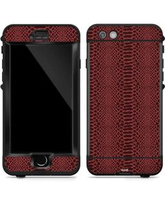 Marsala Snake Skin LifeProof Nuud iPhone Skin