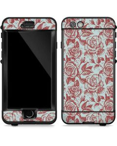 Marsala White Rose LifeProof Nuud iPhone Skin