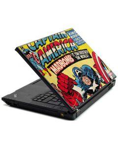 Marvel Comics Captain America Lenovo T420 Skin