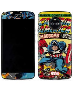 Marvel Comics Captain America Moto X4 Skin
