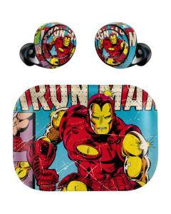 Marvel Comics Ironman Amazon Echo Buds Skin