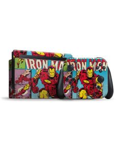 Marvel Comics Ironman Nintendo Switch Bundle Skin