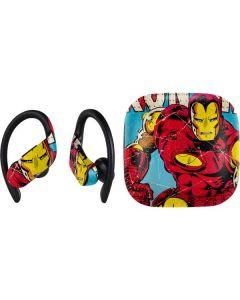 Marvel Comics Ironman PowerBeats Pro Skin