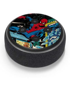 Marvel Comics Spiderman Amazon Echo Dot Skin