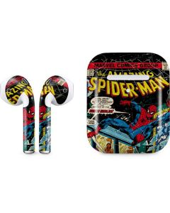 Marvel Comics Spiderman Apple AirPods 2 Skin