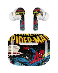Marvel Comics Spiderman Apple AirPods Pro Skin