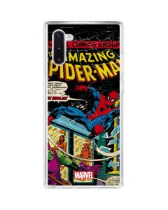 Marvel Comics Spiderman Galaxy Note 10 Clear Case
