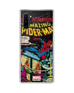 Marvel Comics Spiderman Galaxy Note 10 Plus Clear Case