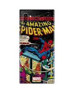 Marvel Comics Spiderman Galaxy Note 10 Skin