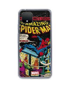 Marvel Comics Spiderman Google Pixel 4 Clear Case