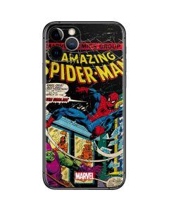 Marvel Comics Spiderman iPhone 11 Pro Skin