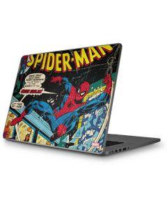 Marvel Comics Spiderman Apple MacBook Pro 17-inch Skin
