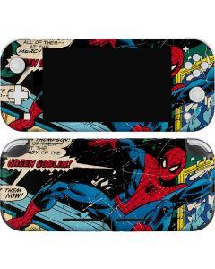Marvel Comics Spiderman Nintendo Switch Lite Skin