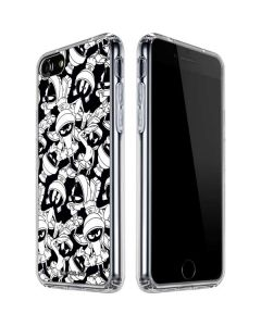 Marvin Super Sized Pattern iPhone SE Clear Case