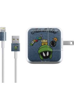 Marvin Thats All Folks iPad Charger (10W USB) Skin