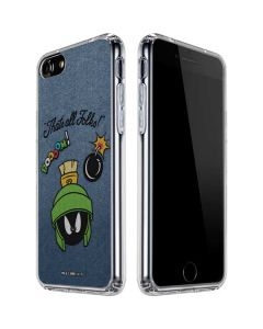 Marvin Thats All Folks iPhone SE Clear Case