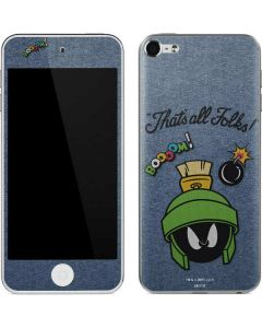 Marvin Thats All Folks Apple iPod Skin