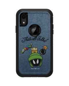 Marvin Thats All Folks Otterbox Defender iPhone Skin