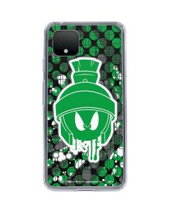 Marvin the Green Martian Google Pixel 4 XL Clear Case