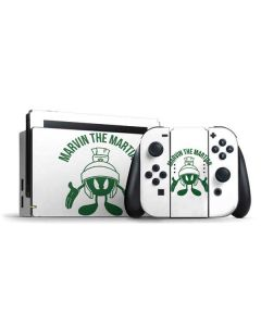 Marvin the Martian Big Head Nintendo Switch Bundle Skin