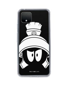 Marvin the Martian Black and White Google Pixel 4 Clear Case