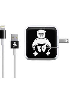 Marvin the Martian Black and White iPad Charger (10W USB) Skin