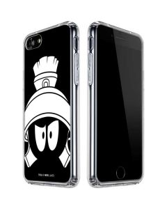 Marvin the Martian Black and White iPhone SE Clear Case