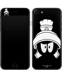 Marvin the Martian Black and White iPhone SE Skin