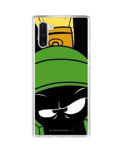 Marvin the Martian Galaxy Note 10 Clear Case