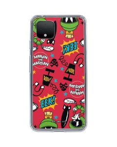 Marvin the Martian Patches Google Pixel 4 Clear Case